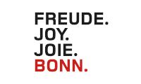 Bundesstadt Bonn - Freude. Joy. Joie. Bonn.